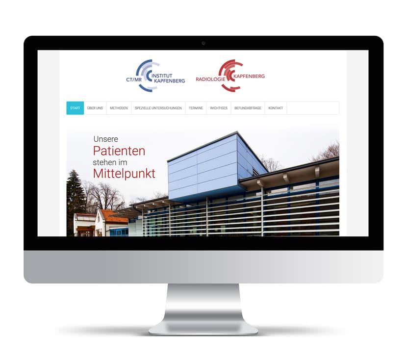 Webdesign Umsetzung Radiolog